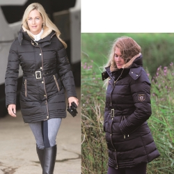 Mark Todd Ladies Long Deluxe Padded Coat