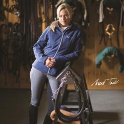 Clearance Deal - Mark Todd Ladies Softshell Fleece Lined Jacket Navy