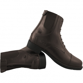 Mark Todd Front Zip Synthetic Jodhpur Boots