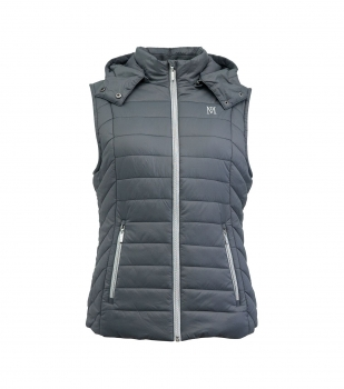 Mark Todd Padded Winter Gilet - Grey/Silver