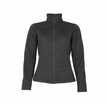 Mark Todd Ladies Softshell Perforated Black Jacket