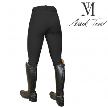 Clearance Offer Mark Todd Ladies Coolmax Grip Breeches Black