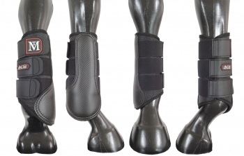 Mark Todd Pro Carbon Mesh Brushing Boots