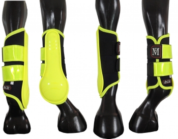 Mark Todd Pro Reflective Brushing Boots