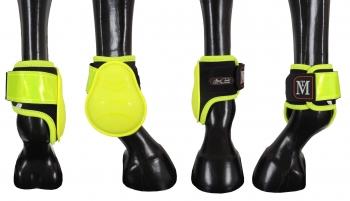 Mark Todd Pro Reflective Brushing Boots