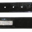 Mark Todd Diamante Patent Leather Belt
