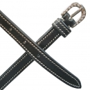 Mark Todd Leather Spur Straps with Contrast Stitching