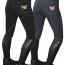 Mark Todd Ladies Skinny Jeans Breeches Denim Blue **CLEARANCE**